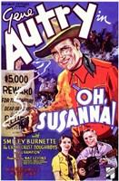 """Oh, Susanna! - 11"""" x 17"""""""