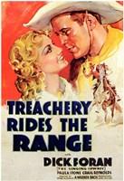 "Treachery Rides the Range - 11"" x 17"""