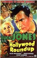"Hollywood Roundup - 11"" x 17"""