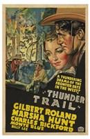 "Thunder Trail - 11"" x 17"""