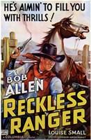 """Reckless Ranger - 11"""" x 17"""""""