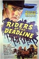 "Riders of the Deadline - 11"" x 17"", FulcrumGallery.com brand"