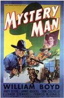 "Mystery Man - 11"" x 17"", FulcrumGallery.com brand"