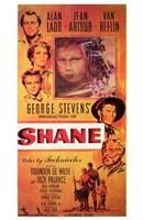 Shane Characters Fine Art Print