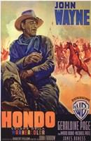 Hondo Italian Wall Poster
