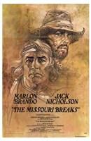 "The Missouri Breaks - 11"" x 17"""
