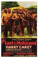 """The Last of the Mohicans - group of men - 11"""" x 17"""""""