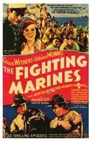 "The Fighting Marines - 11"" x 17"""