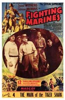 """The Fighting Marines Grant Withers - 11"""" x 17"""""""
