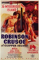 "Robinson Crusoe of Clipper Island Episode I - 11"" x 17"""