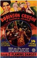 "Robinson Crusoe of Clipper Island Episode 2 - 11"" x 17"""