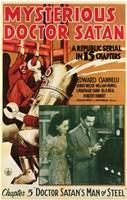 "Mysterious Doctor Satan - 11"" x 17"", FulcrumGallery.com brand"