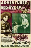 "Adventures of Red Ryder movie poster - 11"" x 17"""