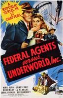 "Federal Agents Versus Underworld  Inc - 11"" x 17"""