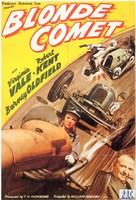 """Blonde Comet - 11"""" x 17"""""""
