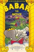 "Babar: the Movie - 11"" x 17"" - $15.49"