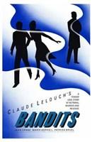 """Bandits Claude Lelouch - 11"""" x 17"""""""
