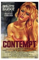 Contempt Framed Print