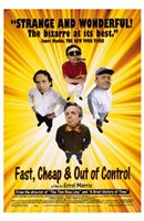 """Fast Cheap  Out of Control - 11"""" x 17"""" - $15.49"""
