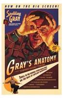 "Gray's Anatomy - 11"" x 17"""