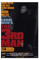 The Third Man 50th Anniversary Wall Poster