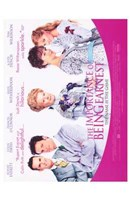 The Importance of Being Earnest Judi Dench Wall Poster