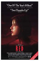 """Trois Couleurs: Rouge Movie - 11"""" x 17"""""""