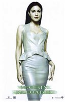 The Matrix Reloaded Monica Bellucci as Persephone Wall Poster