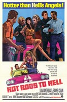 """Hot Rods to Hell - 11"""" x 17"""""""