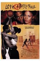 """Love and Basketball Prince-Bythewood - 11"""" x 17"""""""