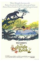 Jungle Book Disney Framed Print