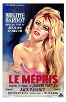 Le Mepris Wall Poster