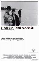 "Stranger Than Paradise Black and White - 11"" x 17"""