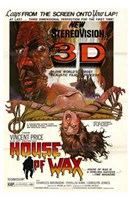 """House of Wax Vincent Price 3D - 11"""" x 17"""""""