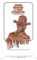 """John Wayne and the Cowboys - 11"""" x 17"""""""