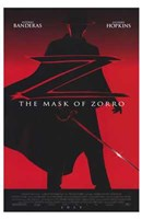 The Mask of Zorro Wall Poster