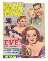All About Eve Framed Print