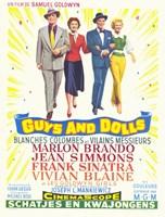 """Guys and Dolls Samuel Goldwyn - 11"""" x 17"""""""