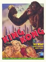 King Kong Fay Wray Fine Art Print