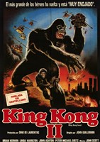 King Kong Lives Wall Poster