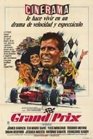 """Grand Prix Spanish - 11"""" x 17"""", FulcrumGallery.com brand"""