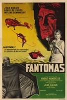 "Fantomas Film In Spanish - 11"" x 17"""