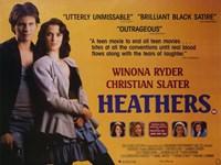 "Heathers - 17"" x 11"" - $15.49"