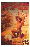 """The Battle of Elderbush Gulch - 11"""" x 17"""""""
