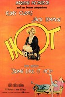 """Some Like it Hot - style F, 1959, 1959 - 11"""" x 17"""""""