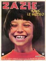 """Zazie Dans Le Metro - 11"""" x 17"""""""