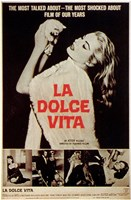 La Dolce Vita Most Talked About Film Fine Art Print
