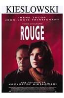 """Trois Couleurs: Rouge Irene Jacob - 11"""" x 17"""""""