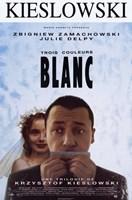 "Trois Couleours: Blanc - 11"" x 17"""