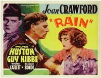 "Rain With Huston And Crawford - 17"" x 11"""